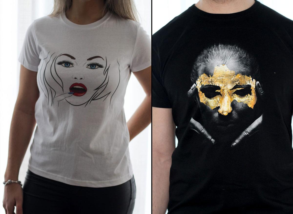 Impressão digital têxtil, T-Shirts personalizadas preço
