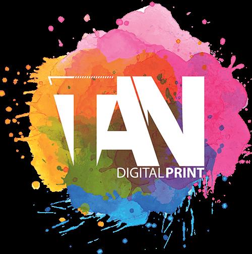 Tan Digital Print, impressão digital em tecido