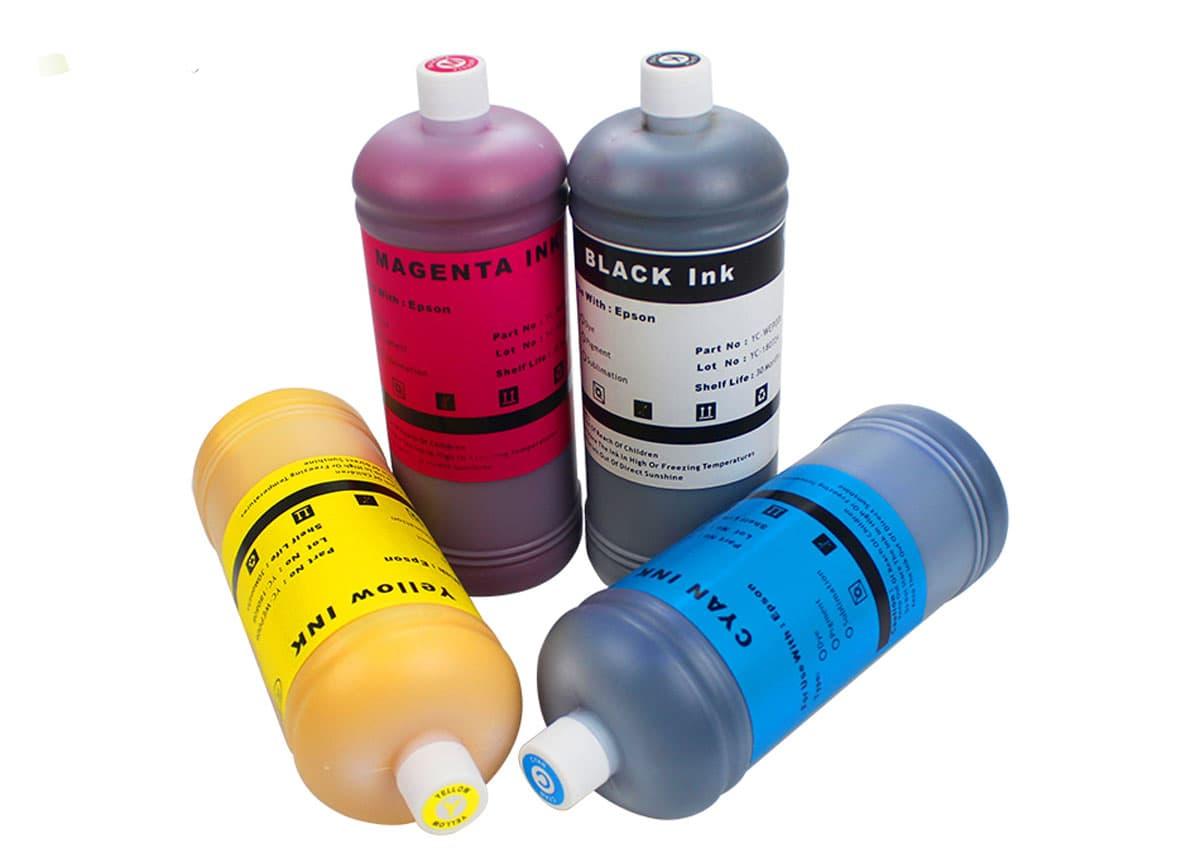 Tinta para impressão digital em tecido é segura