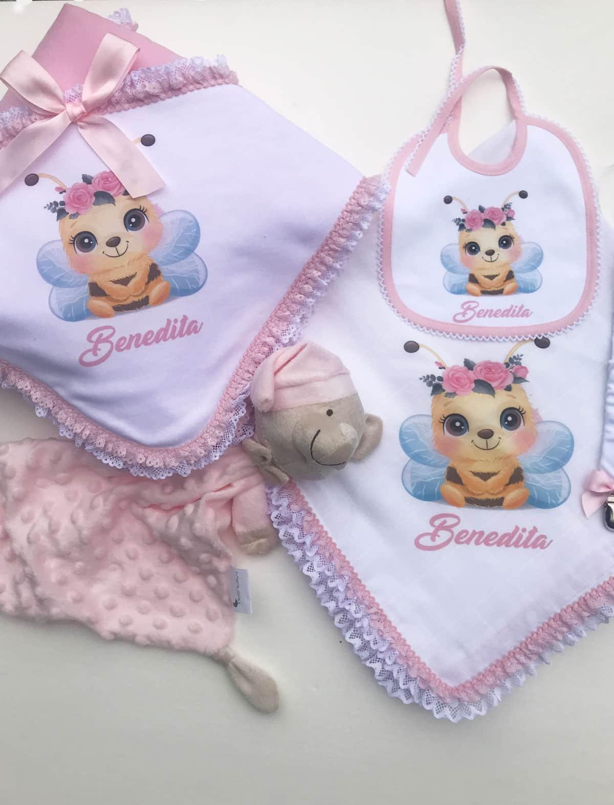 Babetes personalizados para bebé