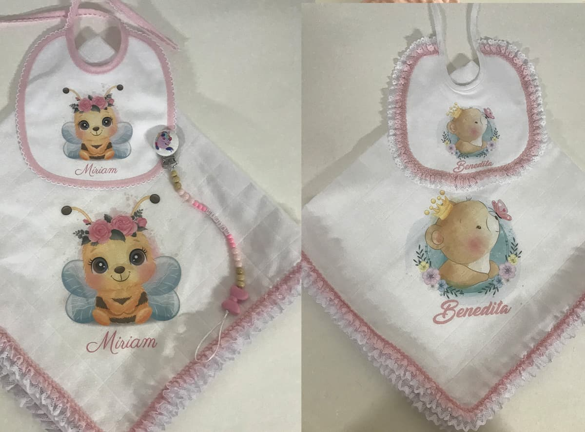 babetes personalizado para bebé
